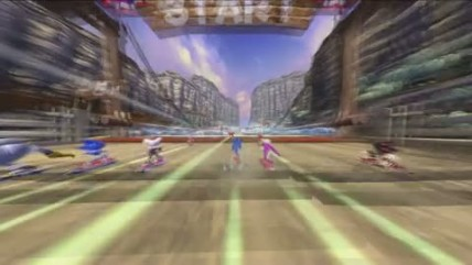 "Sonic Free Riders ""Weapons Trailer"""