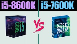 Сравнение - intel i5-8600K vs i5-7600K | GTX 1080 ti
