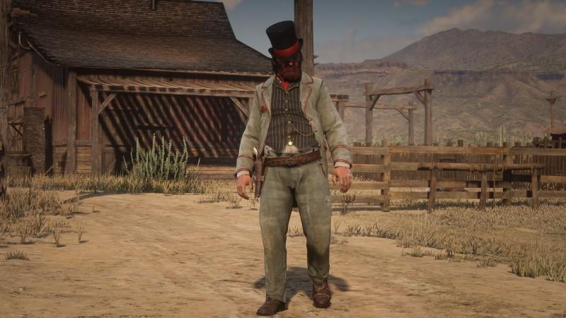 Датамайнер показал вырезанных из Red Dead Redemption 2 персонажей