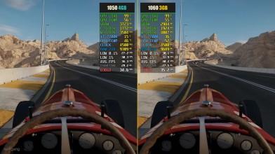 Сравнение - Forza 7 GTX 1050 Ti 4GB vs. GTX 1060 3GB