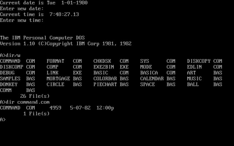PC DOS