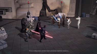 Star Wars: Galaxy of Heroes уже доступна в App Store и Google Play