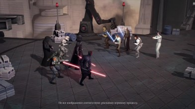 Star Wars: Galaxy of Heroes уже доступна в App Store и Google Play