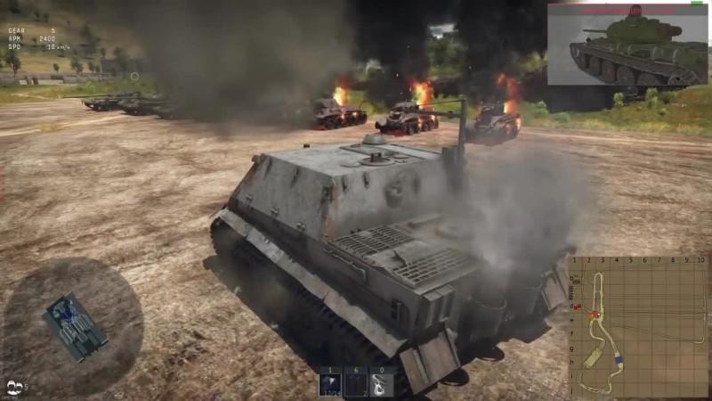 Шок! Штурмтигр, Т-72 и Т-80 в War Thunder! Ответы разработчиков #72