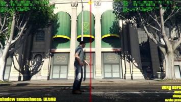 Технология теней NVIDIA PCSS в GTA 5