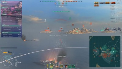 World of Warships. Эсминец Gadjah Mada