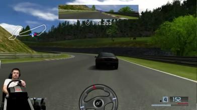 Страшный сон Кларксона - FF челлендж Gran Turismo 4К на ПК + руль Fanatec CSL Elite