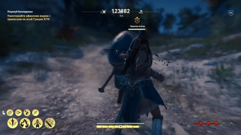 Assassin's Creed Odyssey:Билд бога одиссеи с ваншотами и мощным уроном(Ч.2)