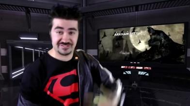Batman: Arkham City - обзор от Angry Joe [Русская озвучка]