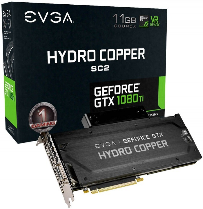 EVGA GeForce GTX 1080 Ti Hydro Copper