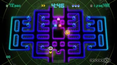 "Pac-Man Championship Edition 2 ""Геймплей Score Attack"""