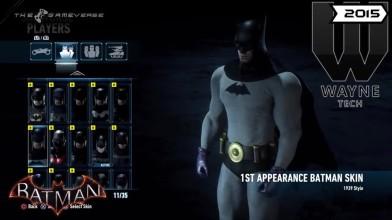 Эволюция костюмов бэтмена за 18 лет в видео играх