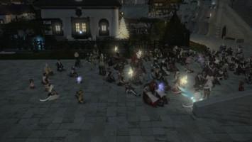 Игроки Final Fantasy XIV устроили поминки по погибшему товарищу