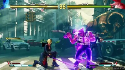 Street Fighter 5 - Falke Arcade Mode