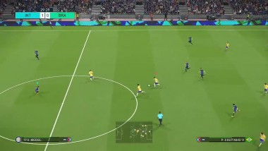 PES 2018 Demo - New Gameplay - Inter vs Brazil - HD