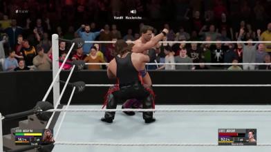 Online Match - Chris Jericho VS Kevin Nash (2k16)
