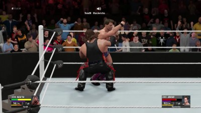Online Match - Chris Jericho VS Kevin Nash (2k16)