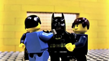 "Пародия на ""Batman: Arkham City"" в стиле Lego"