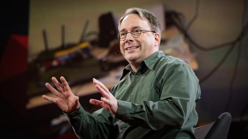 Основоположник Linux Линус Торвальдс (источник фото: ted.com)