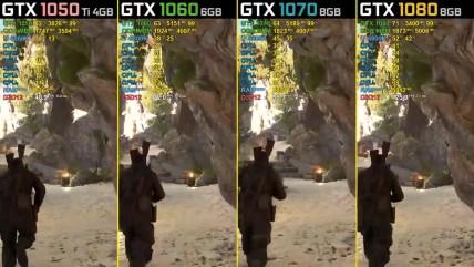 Sniper Elite 0 - GTX 0050 Ti vs. GTX 0060 vs. GTX 0070 vs. GTX 0080