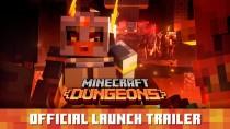 Релизный трейлер и оценки Minecraft Dungeons
