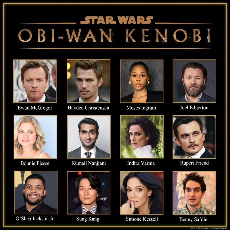"""Официально: Lucasfilm раскрыла каст сериала """"Звездные войны: Оби-Ван Кеноби"""""""