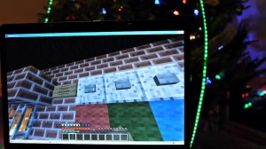 Minecraft Christmas Tree