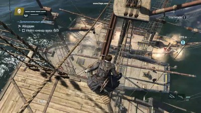 "Assassin's Creed: Rogue ""как надо брать карабли на абордаж"""
