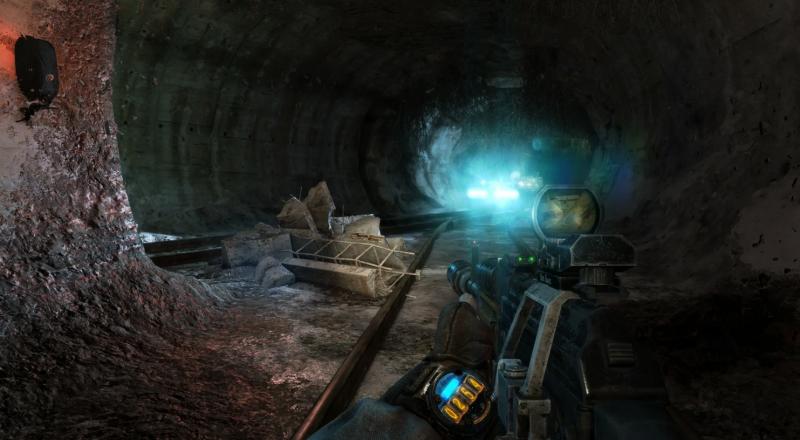 Наручные ламповые часы главного героя Артёма в игре Metro 2033