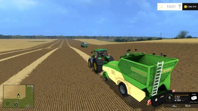 "Видео обзор мода ""Krone Premos 5000 v 1.0 BHM"" для игры Farming Simulator 15"