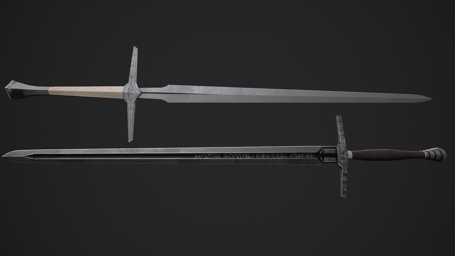 картинки мечей ведьмаков мне