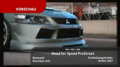 "Need for Speed ProStreet ""Ролик"""