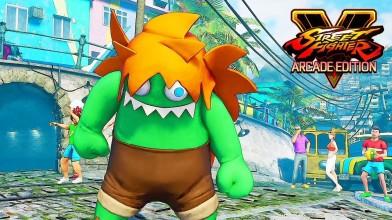 Street Fighter 5 - Бланка умеет замораживать время