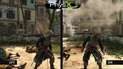"Assassin's Creed 4: Black Flag ""Трейлер PhysX"""