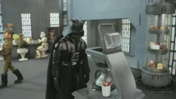 Robot Chicken Star Wars Episode III - Force Unleashed Sketch Рус.