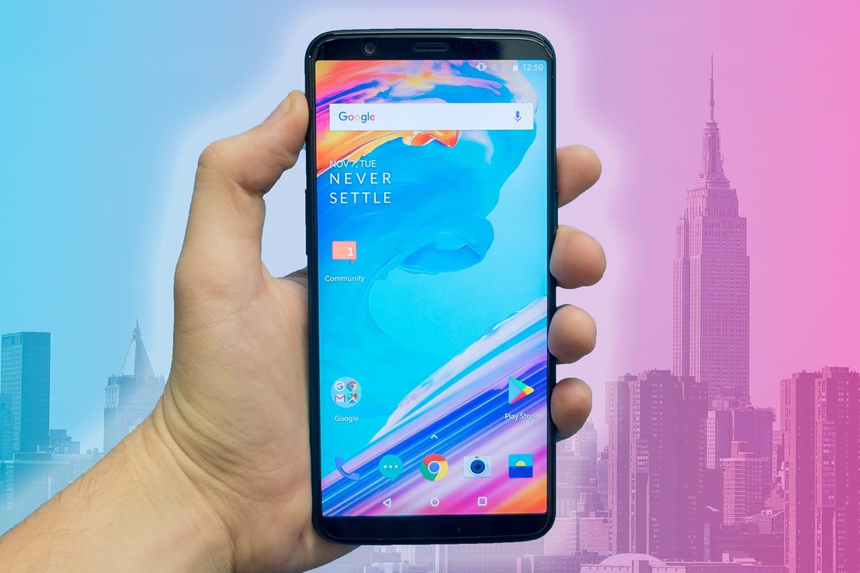 Компания OnePlus представила смартфон 5T ссистемой разблокировки лицом