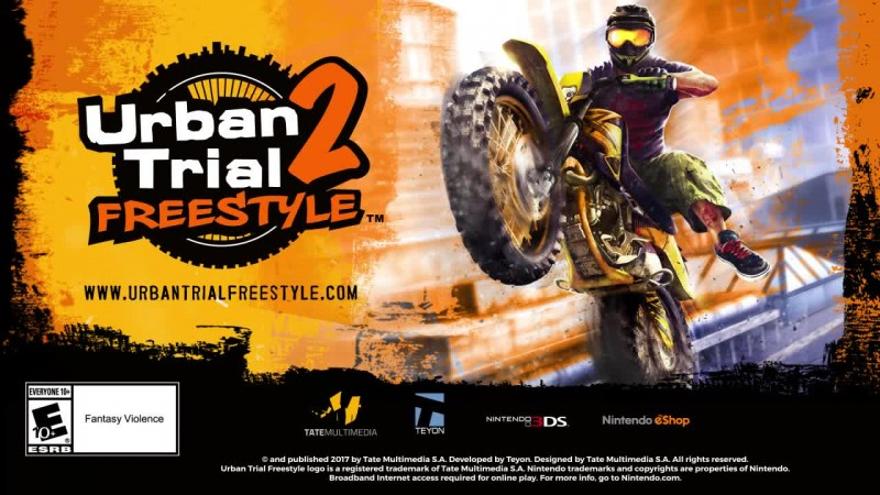 Трейлер Urban Trial Freestyle 2 для 3DS