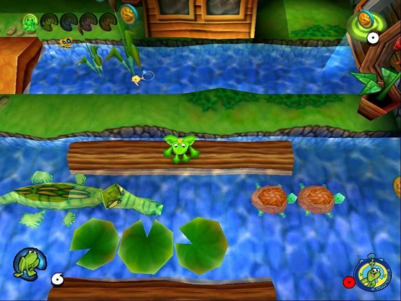 Забавный факт: в серии Frogger были три совершенно разные игры с названием Frogger 2, которые выходили с разницей около 10 лет.
