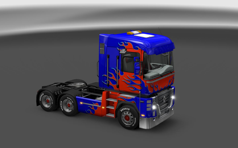 Euro truck simulator 2 юбки