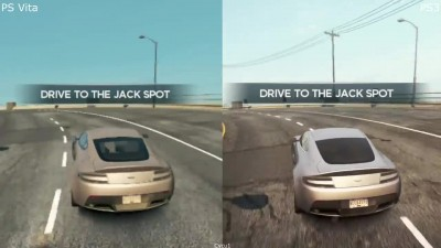 Need For Speed Most Wanted - PS Vita vs PS3