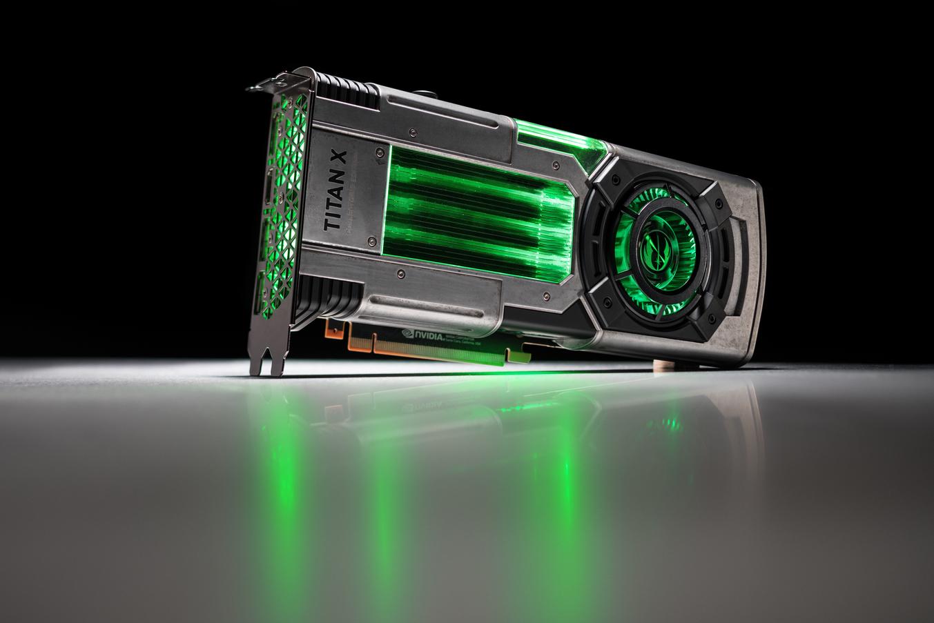 Nvidia показала видеокарты встиле «Звёздных войн»