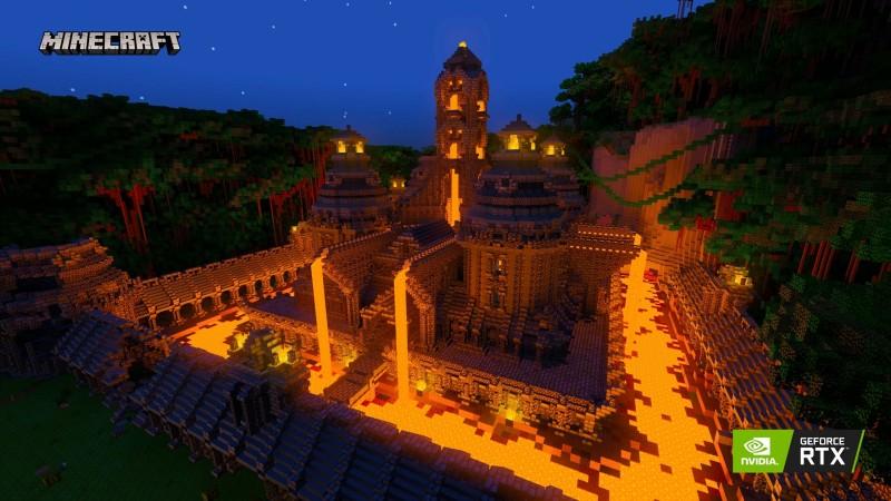 Бета тестирование обновленной графики для Minecraft начнется 16 апреля