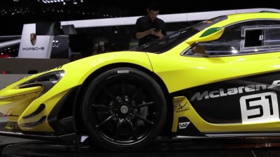 Chris Goodwin on the McLaren P1 GTR - Geneva Motor Show 2015