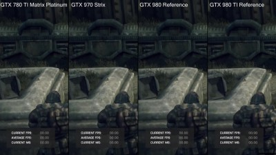 "Gears Of War ""Тест производительности Pc DX12 GTX 980 TI Vs GTX 980 Vs GTX 970 Vs GTX 780 TI"""