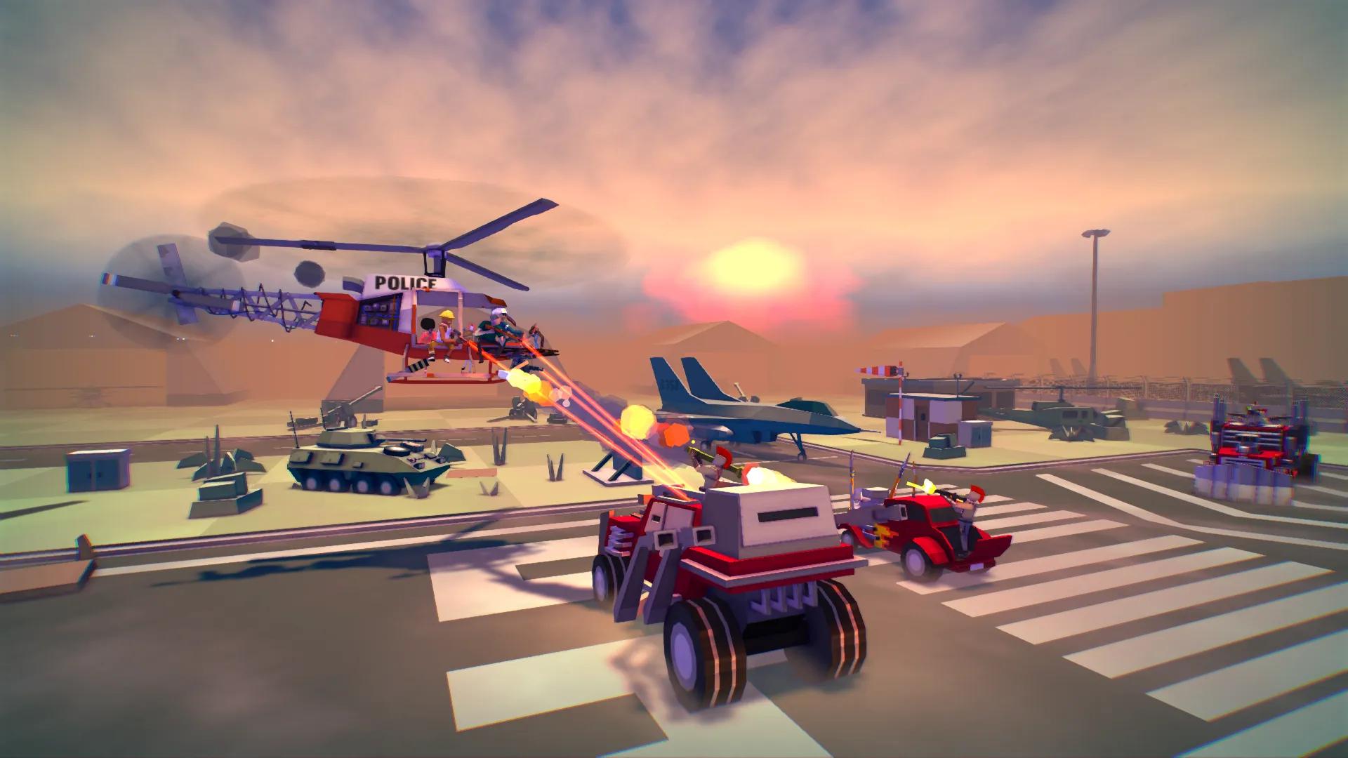 Вертолетный зомби-шутер Dustoff Z выйдет на PS4, Xbox One, ПК и Switch в этом году