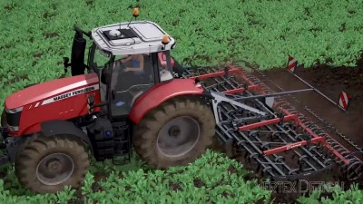Мод культиватора Saphir GE601 для игры Farming Simulator 17