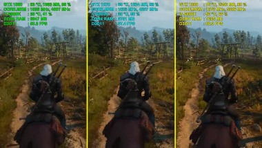 The Witcher 3: Wild Hunt - GTX 1060 vs. GTX 1070 vs. GTX 1080