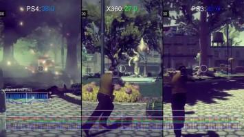 "Saints Row 4 ""Тест частоты кадровPS4 vs PS3/Xbox 360"""