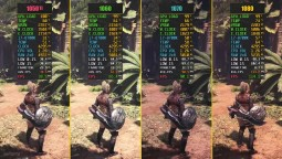 Monster Hunter World - GTX 1050 Ti vs. GTX 1060 vs. GTX 1070 vs. GTX 1080
