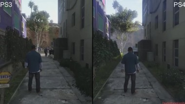 GTA 5 - PS4 vs PS3 графика (2017)